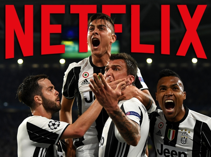 Flash news: Netflix produce un documentario sulla Juventus.